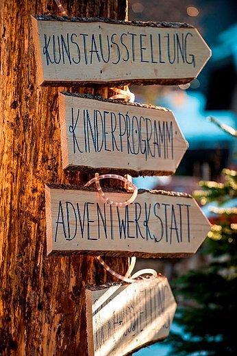 Advent Wegweiser © Fuschlsee