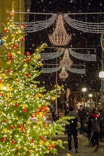 Pfarrgasse Weihnachtsbeleuchtung, (c) Lenzenweger