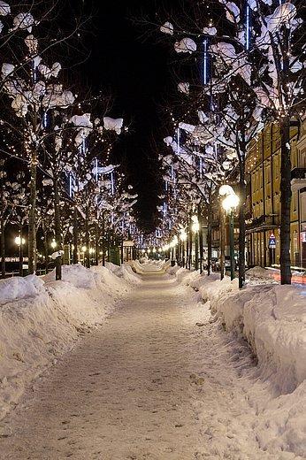 Weihnachtsbeleuchtung Esplanade, (c) Lenzenweger