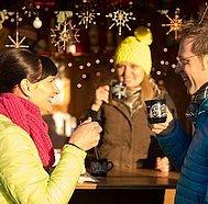 Advent der Dörfer Punsch trinken © Fuschlseeregion Erber