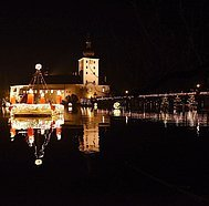 Schlösseradvent 2015, bei Nacht (c) Wolfgang Spitzbart