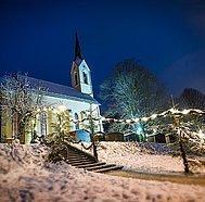 Kirche Advent in Guggenthal © Fuschlsee Stadler