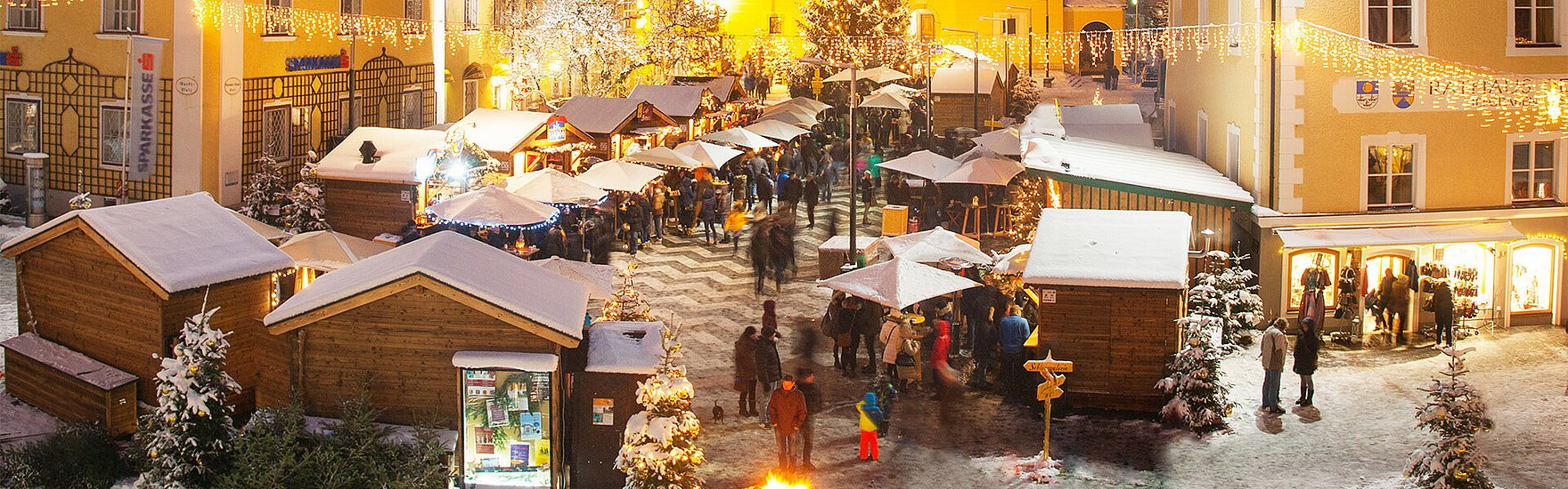 Adventmarkt Mondsee (c) TVB MondSeeLand, Wolfgang Weinhäupl