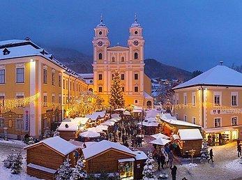Panoramafoto Adventmarkt © TVB Mondsee-Irrsee_Wolfgang Weinhäupl