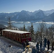 Schafbergbahn im Winter,  © WTG